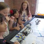 SEE is hosting FIRST® PLACE™ Invention Challenge summer camp. Today testing & adjustments. #MHT @FIRSTweets http://t.co/hVf2ED65E9