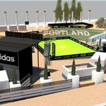 RT @matthewkish: Ahead of next weeks MLS All-Star Game, @adidas on Saturday will turn @pioneersquare into a Providence Park replica. http://t.co/J2qcYNaodu