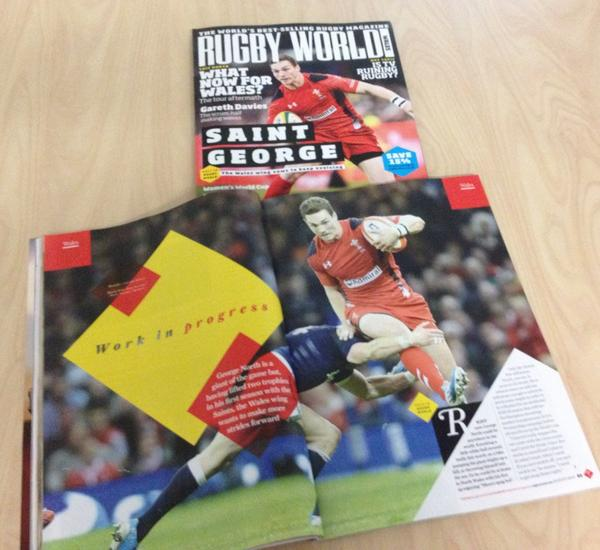 Find out why @George_North is hoping for big things in his second season @SaintsRugby in the latest issue of RW http://t.co/fI0Q0Z8ZL6