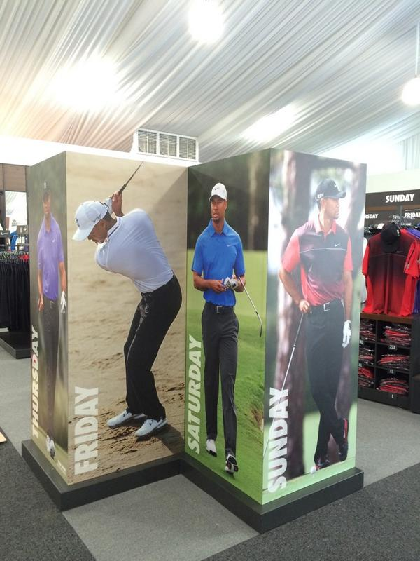 Dress like the pros! See & buy @TigerWoods & @McIlroyRory's #PGAChamp outfits at The Championship Shops Sat/Sun 10-6.