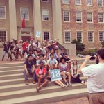 Group 15...the hottest photobombers on the scene #doitforthehill #carolinasnapshots http://t.co/vdpZlNrLiq