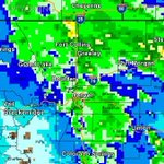 Here are the 24 hours rainfall estimates as of 8 a.m. today. #cowx #FOX31wx http://t.co/C2KrGjxBK3 http://t.co/h1EzQgmFi9