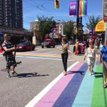 THIS @CBCGloria MT @TheresaLalonde: So this is awesome. #cbcvanpride Our Vancouver pride shoot. http://t.co/yuQ3IGiLm8