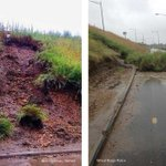 Mudslide closes I-70 on-ramp in Wheat Ridge. #TrafficAlert #Rain #COWX http://t.co/VTg4lJYzBg http://t.co/ybXxXDt54A