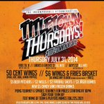 RT @JamiahMadeYuNut: #TitleTownThursdays tomorrow its gone be live spades wings and beer pong http://t.co/zukjK2jBHX