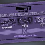 RT @NUFBFamily: What if I told you...that @coachfitz51 will spend an entire day @espn headquarters talking #B1GCats football? http://t.co/4vfRC92otp