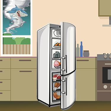Staying in groups during a #sharknado will keep you safe. So will grouping foods in the freezer if the power goes out http://t.co/uDyhpAFaEp