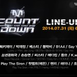 RT @SMTownEngSub: MCountdown line-up tonight: Henry K.Will Block B B1A4 Boys Republic Homme Sistar Hyomin HA:TFELT BESTie Lucky J, etc https://t.co/WPX16QbB9T
