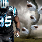 RT @Panthers: If @randywattson can make a #Sharknado apologize, just imagine what he will do on the field this season. http://t.co/5aFnvctHZW