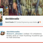 IDF soldier brags about killing 13 children. https://t.co/u9TXcUXDwM #Gaza #ICC4Israel http://t.co/g5rKTycwmp