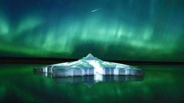 Coming soon, and very cool MT @Ninja_Kangaroo: Floating snowflake hotel http://t.co/dd6ABO0lmQ #lp #travel