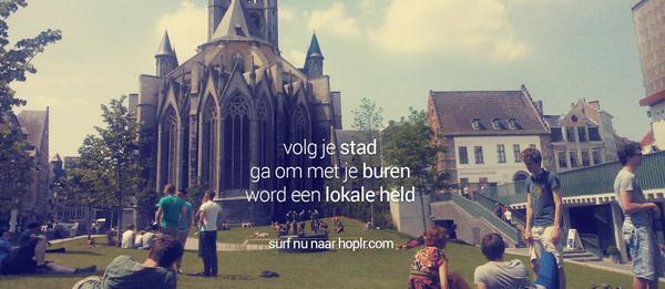 Belgische start-up @Hoplr lanceert sociaal netwerk voor steden, brengt je in contact met buren http://t.co/cNcaFOL3eB http://t.co/lQT7DFmsaG