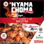 This weekend...Sat,August 2nd #TheNyamaChomaFestival #TheNyamaChomaFestival #NewCityPub In Mbeya cc @NyamaChomaFest http://t.co/lMrOamvfd6