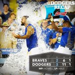 Matt Kemp homers early then supplies the #walkoff single to down the Braves in extras. Recap: http://t.co/VETgu09OtJ http://t.co/k24GSznF3I