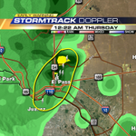 Brad: Watching another storm developing through Central El Paso stretching through downtown into Juarez. http://t.co/WlU0j1PVVl