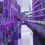 CanalStreet #art print displayed @taurusbar on Canal Street! check it out throughout August #Manchester #Pride http://t.co/DoO9GLoDci