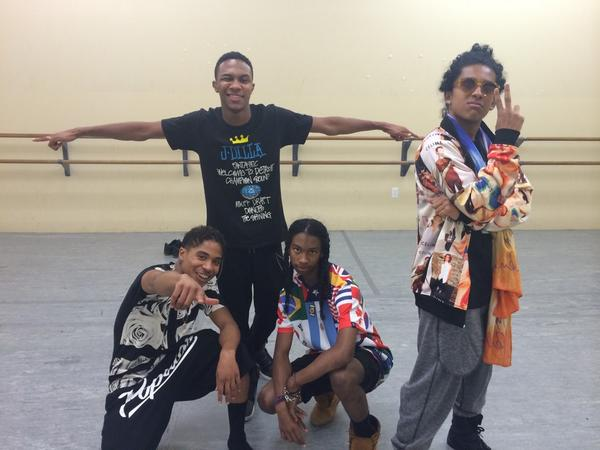 These guys just killed it in rehearsals tonight! Big day tomorrow #TeamMindlessLA! http://t.co/O1H2lEqUeS