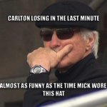 Poor Mick #AFLFreoBlues http://t.co/GRczmio4WO
