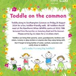 RT @ActiveSoton: Introducing Toddle on the Common run by @SolentNHSTrust and starting on Friday 29th August in #Southampton! http://t.co/5HkYXWeI51
