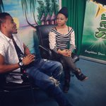 RT @OfficialAliKiba: Im at @startvtz with the amazing Sauda Mwilima talking about my new singles #Mwana & #Kimasomaso !!! http://t.co/Q5OZDlPdXT