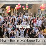 Our team are huge Harry Potter fans and couldnt wait to celebrate! #HappyBirthdayHarryPotter http://t.co/Tqw1p6Fhiy