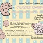 Two sleeps to #CookieSwap4 get ready!! #Durban 10:30am at @Quartershotel http://t.co/8f6IPHXGm4