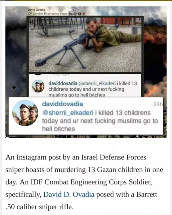 So @IDFSpokesperson says 350 #Gaza children killed by #Israel were cuz #Hamas used them as human shields. The truth: http://t.co/NU7e3F1G0K