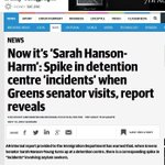 RT @SenateSabotaged: Yes .. I can believe this report. @sarahinthesen8 is not right in the head !! #auspol Keep her away. #pmlive http://t.co/xDKpX9oIkf
