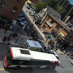 Accident with OC Transpo bus on Bank st. #ottnews #otttraffic http://t.co/Us30nmyILU