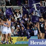 Final result, Freo scrape home, Carlton a long flight home #AFLFreoBlues @superfooty @lensman_dan #gofreo #dockers http://t.co/8laV9XVJC9