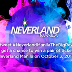 RT @NeverlandManila: Wait for #NeverlandManilaTheBigReveal announcement, RT it & if we get 5K RTs, 1 lucky follower will win 2 tickets! http://t.co/PAjRZmiSIO