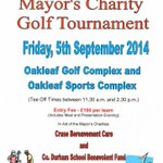 #aycliffehour We need teams, sponsors and prizes for the Mayors Charity Golf Tournament. #charitygolf #golf http://t.co/2yFKj1uj26