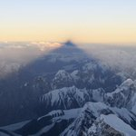 """@pakkashmiri: Towering #Pakistan ! ""@_faysal: Shadow of K2 https://t.co/I2wXxLf7Eb #Kashmir"""""