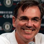 "RT @MLB: ""In Billy Beane we trust."" – @Athletics fans everywhere. #TradeDeadline http://t.co/jgTdo9D8v4"