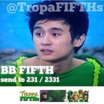 Guys, lets save Fifth. BB FIFTH send to 231 ???? 2331 ???? @FEUtamz patulong po sa pag promote. #PBBYouOnlyLiveOnce http://t.co/dv8VRBf10b