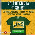 RT @kron4news: BAD Timing? @athletics reportedly trade Yoenis Cespedes two days before t-shirt giveaway http://t.co/TfeBDNHY47 http://t.co/CjnzRZqLqq