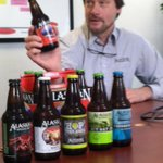 The things we have to do for work! Today: Sampling @AlaskanBrewing #craftbeer for all our #WFGR listeners http://t.co/Bv3G7OrY9S