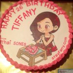 RT @SNSDaddicted: Tiffanys 26th Birthday Cake from Thai Sones @/StayfanyTH #ᄐᄑᄂᄂᄋᄌ #happybirthdaytiffany http://t.co/mqRC647gAu