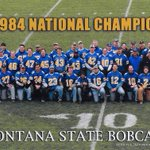 Presenting the 1984 Championship Football Team at their 20yr reunion. Cant wait for their 30yr this fall! #GOCATSGO http://t.co/M82cQ71J15