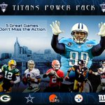 Get tickets to 5 #Titans games this season with the Titans Power Pack: http://t.co/eCuZRtbAQD http://t.co/PJW5gQ4xcB