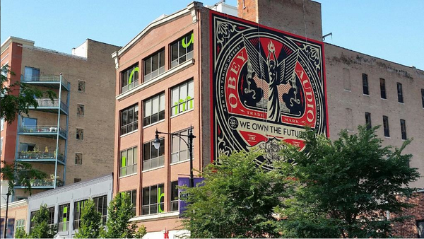 Headed to #Chicago for #lolla? Don't miss out on the #streetart exhibit curated by @OBEYGIANT. http://t.co/OLpGaVmTjn http://t.co/bkA7ifw935