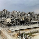 Gaza? No,this is Syrian city of Homs, since Muslims did this to fellow Muslims no problem. http://t.co/2yftteZtNv http://t.co/MTXIdTj9BL