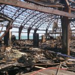 RT @Eastbournepol: This picture shows the destruction done to Eastbourne Pier arcade following the fire yesterday. http://t.co/gCKOKoPk5G