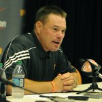 UT Coach Butch Jones talking to media Thursday. @UTCoachJones @knoxnews @GoVolsXtra http://t.co/vK4RZqbzlp