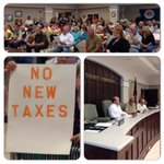 Its standing room only at Dade Co. Public Hearing. Residents are speaking out against a proposed 44% tax increase. http://t.co/vM5HK2zZKh