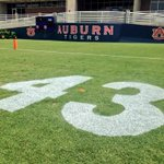 #Auburn will open football practice with 43 painted in end zones honoring Philip Lutzenkirchen. #WarEagle http://t.co/lBWSsaIAfH