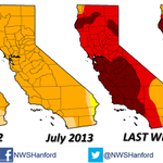 "Intensification of the drought- ""@Wx_Max@NWSHanford: #CADrought has gone from bad to worse to horrible @DroughtGov http://t.co/OJ8GPUfXvH"" """