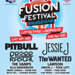 EXCITED! Not long now til @fusionfest #Birmingham with headliners @pitbull + @JessieJ + @thewanted - great line-up! http://t.co/Zrfd6yUV0X