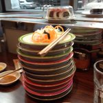 RT @taraheritage: Have we eaten enough #sushi this evening? Hhhmmmm - not sure #K10 #London http://t.co/Ptsc7BA7xz