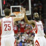 RT @NBCSN: Chandler Parsons, James Harden patch things up --> http://t.co/Jfkpl8orpe http://t.co/B8cCdEUen5